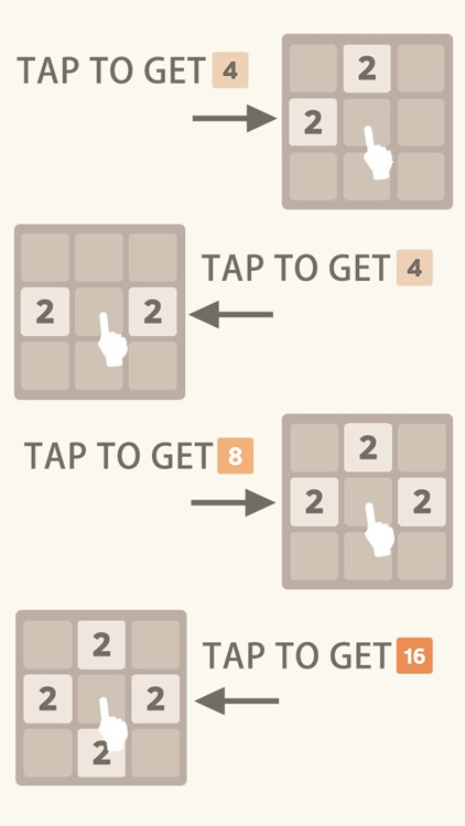 Just Get 2048 - A Simple Puzzle Game ! screenshot-2
