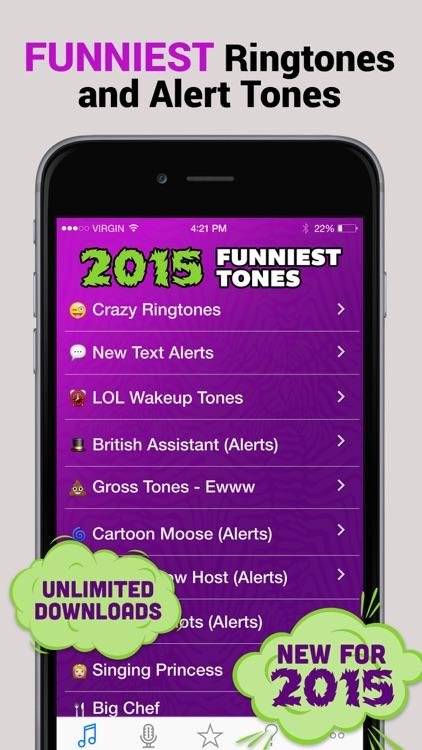 2015 Funny Tones Pro - LOL Ringtones and Alert Sounds