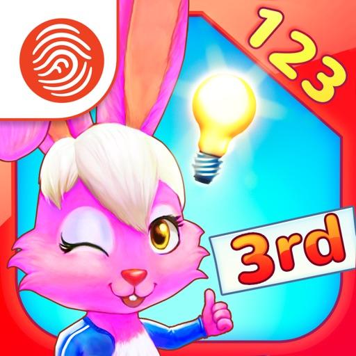 Wonder Bunny Math Race: 3rd Grade App - A Fingerprint Network App