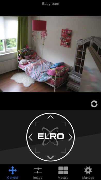 IP Camera Viewer ELRO iPhone app afbeelding 1