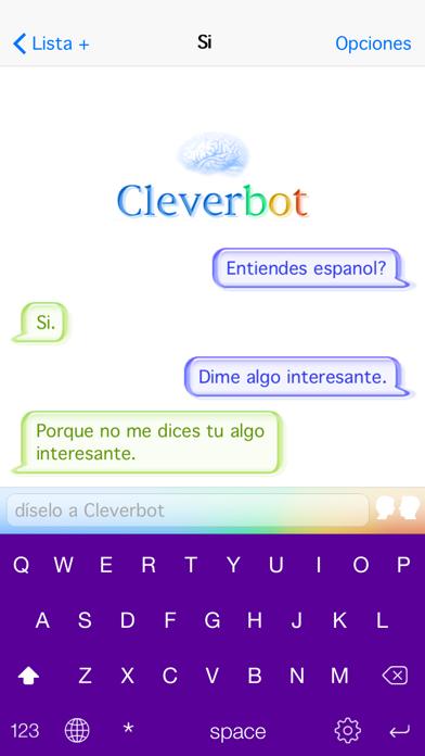 CleverbotCaptura de pantalla de2