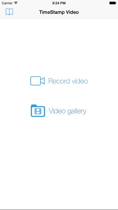 Camara de Video con Fecha y HoraCaptura de pantalla de5
