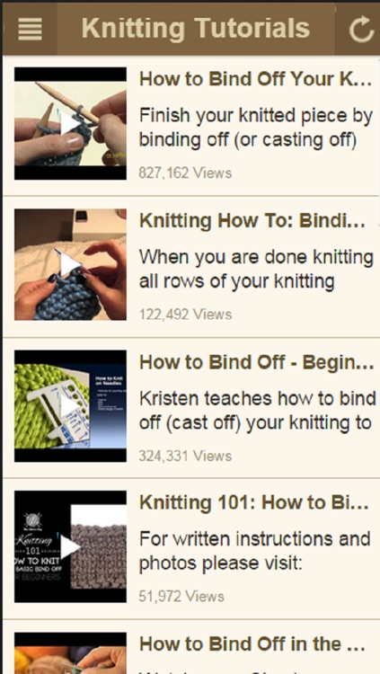Knitting For Beginners - Learn How to Knit with Easy Knitting Instructions screenshot-3
