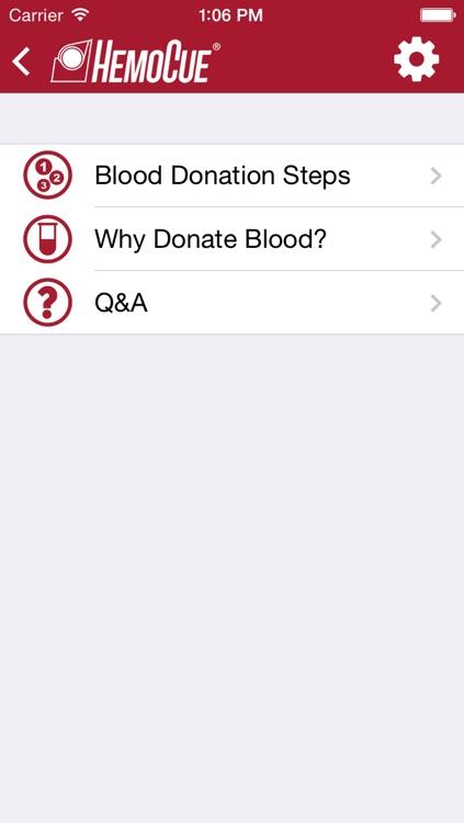 My Blood Donor App screenshot-3