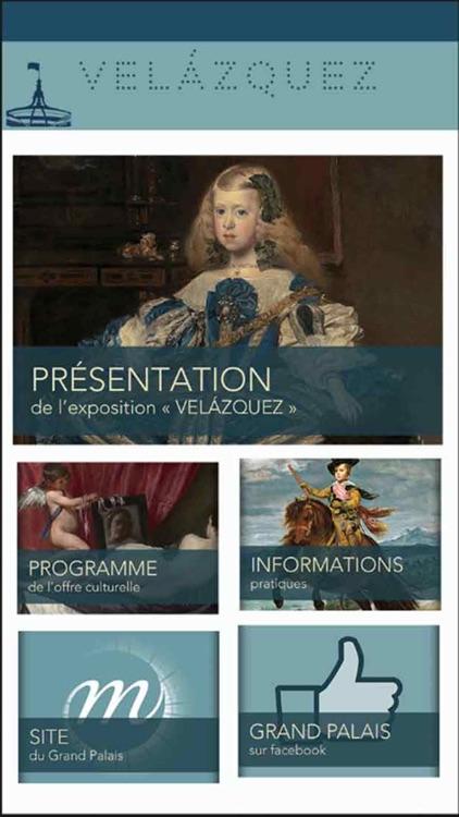 Velázquez, l'Application officielle de l'exposition