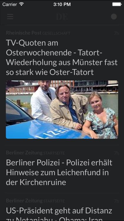 Zeitungen DE - Die wichtigsten Zeitungen in Deutschland screenshot-4