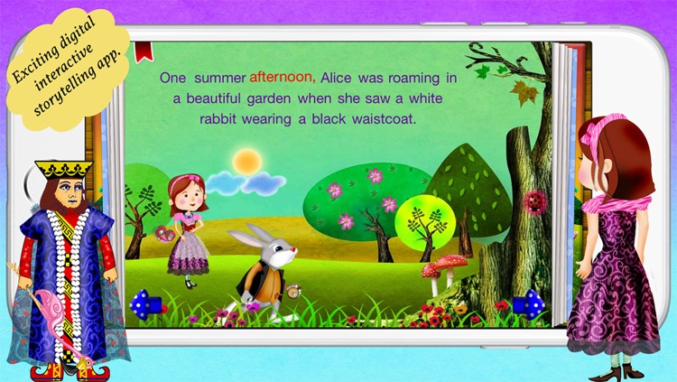 Alice in Wonderland by Story Time for Kids screenshot-0