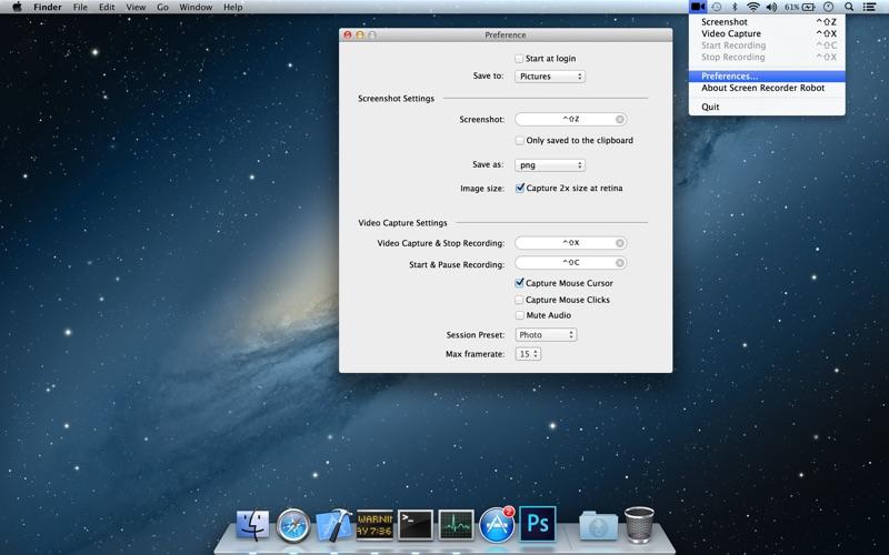 Screen Recorder Robot Lite Screenshot