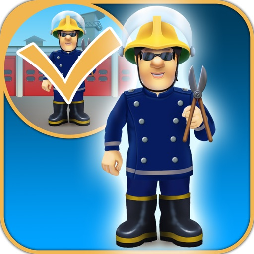 Fireman and Policeman Junior City Heroes - Copy and Draw Fire Rescue Maker Free Game