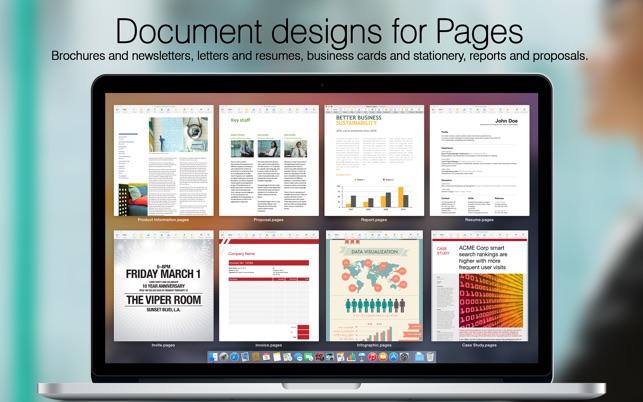 Megapack For IWork Keynote Numbers Pages Templates On The - Business card templates for pages