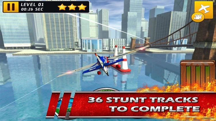 Stunt Baron Metal Wings xtreme a 3d bandit airplane pilot screenshot-3