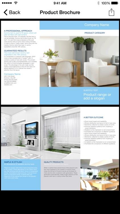 Brochureware for Microsoft Word screenshot-3