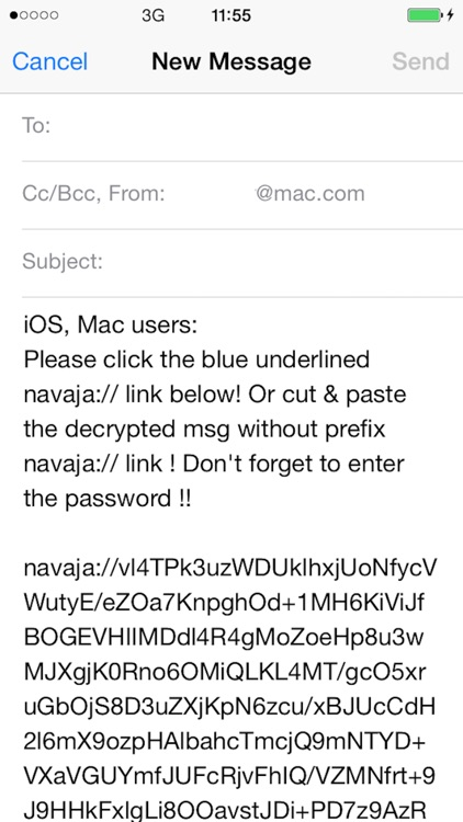 Navaja Secure EMAIL screenshot-4