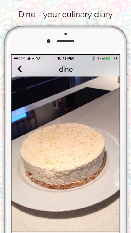 Dine - your culinary diary screenshot-3