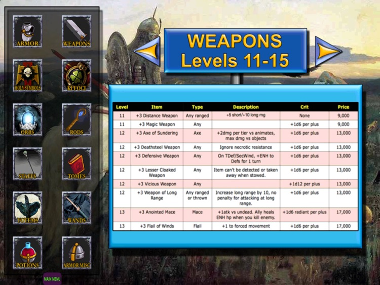 DM and Player Tools for Dungeons and Dragons 2015 screenshot-3
