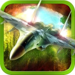 Real 3D Jet Fighter Air-Strike Combat