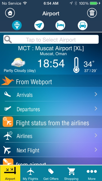 Muscat Airport Pro (MCT) Flight Tracker screenshot-1