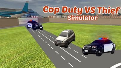 逮捕強盗という警官のデューティ·オフィサー - 泥棒駆動&レーシング対警察の車のスクリーンショット4