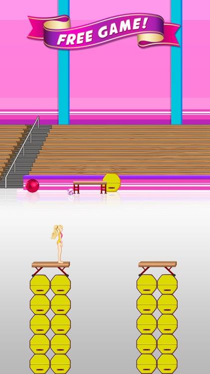 Balance Beam - Amazing Princess Gymnastics