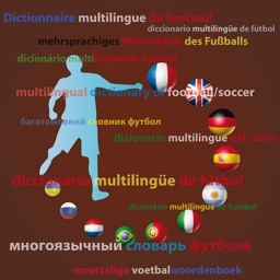 Multilingual dictionary of football/soccer words and expressions - French, English, German, Spanish, Argentinian, Italian, Portuguese, Brazilian, Dutch, Russian ,Ukrainian