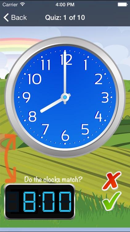Time Teacher - Learn How To Tell Time screenshot-3