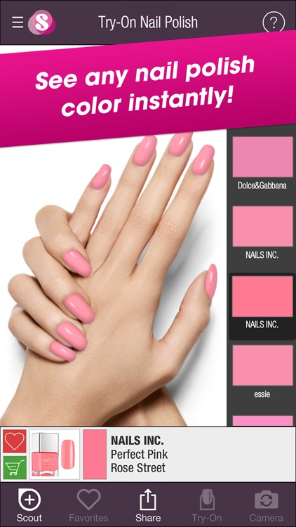 ShadeScout Nails – Nail Polish Color Search & Visualizer