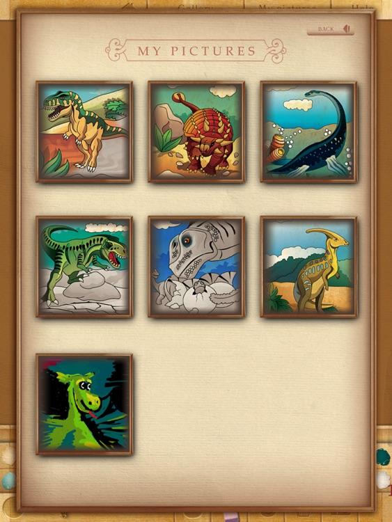 Coloring book. Dinosaurs screenshot-4