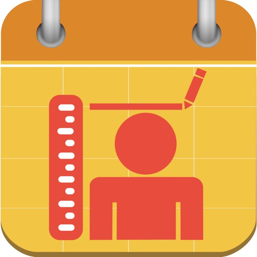 Height Tracking Calendar - Track your daily, weekly, monthly, yearly height and set personal goals