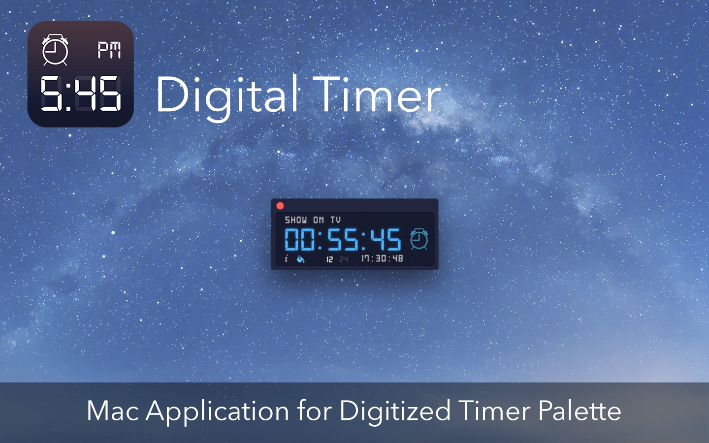 Digital Timer on the Mac App Store