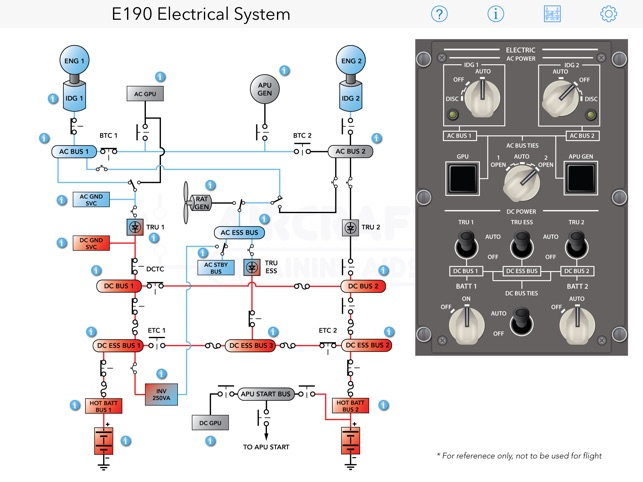 e190 electrical diagram on the app store rh itunes apple com Electrical Circuit Diagrams Simple Electrical Circuit Diagram