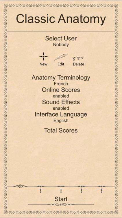Classic Anatomy screenshot-4