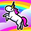 I'ma Unicorn - Amazing Glitter Rainbow Sticker Camera!
