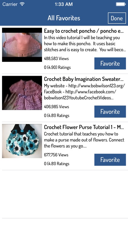 Crochet Guide - Best Video Guide