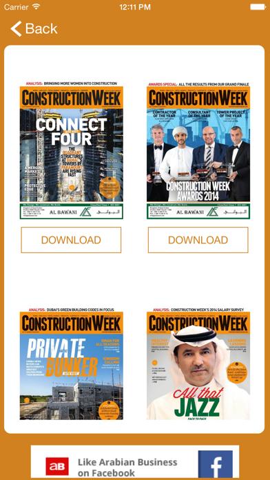 Construction Week screenshot two