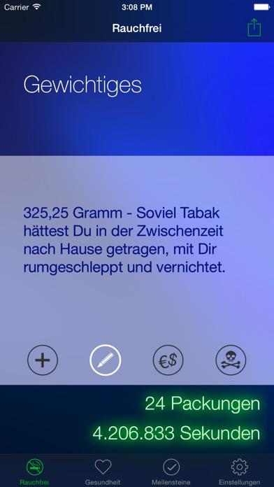 Screenshot for Rauchfrei Pro in Germany App Store