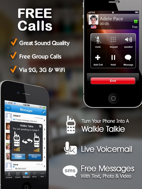 Dingtone Free Phone Calls & Text Messaging with Cheap International Calling and Texting for iPad