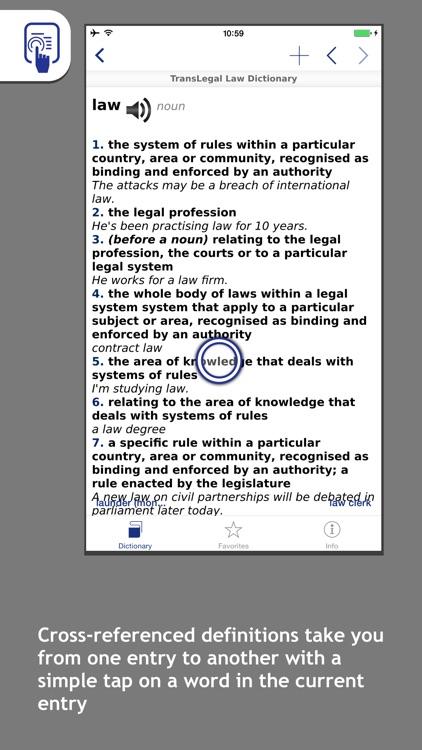 TransLegal's Law Dictionary screenshot-4