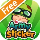 Army Sticker Free icon
