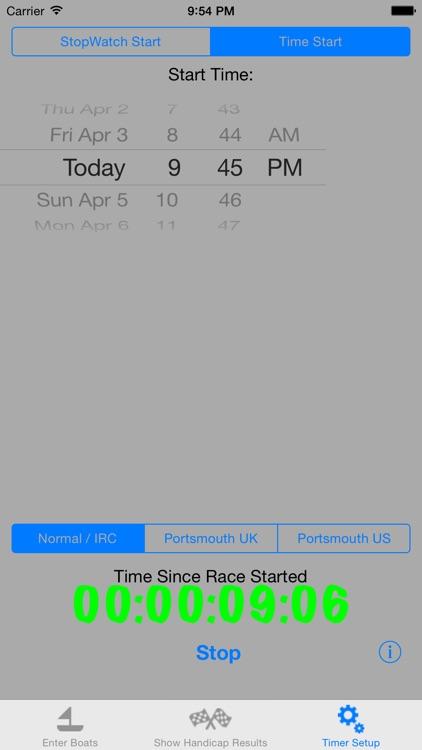 Sailing Handicap Calculator screenshot-3