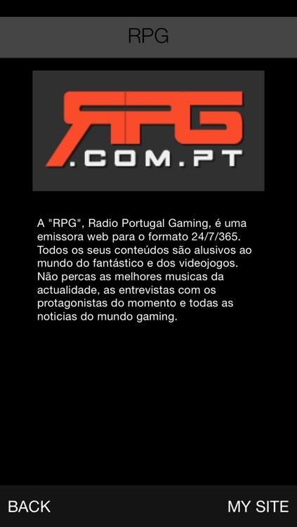 RPG Radio Portugal Gaming by FastCast4u Ltd