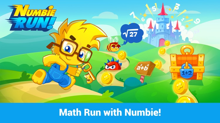 Numbie Run: An exciting running game for 1st to 3rd grade!
