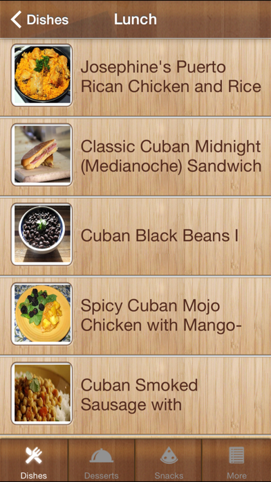 Caribbean Cookup Recipes screenshot one