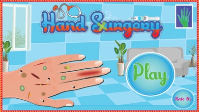 Hand Surgery - Free doctor surgeon and medical care game for