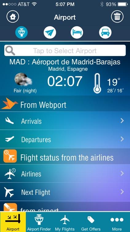 Madrid Airport (MAD) Flight Tracker - Aeropuerto de Madrid Barajas