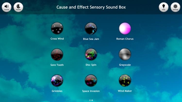 Cause and Effect Sensory Sound Box