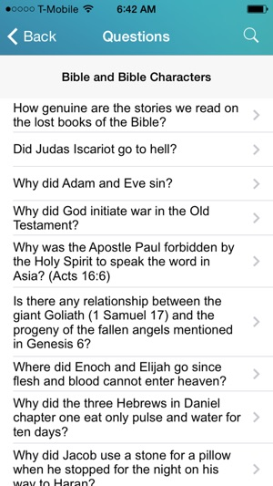 Bible Questions and Answers - Free Topical Bible Study on