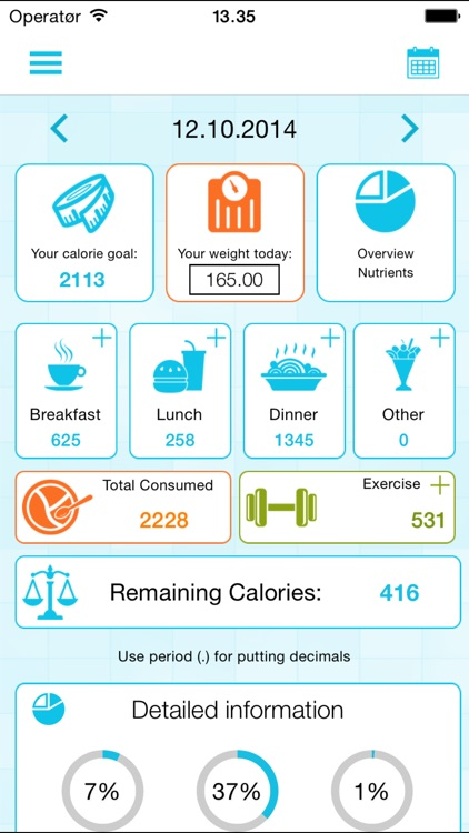 calorie counter and weight loss watcher by appsonite as