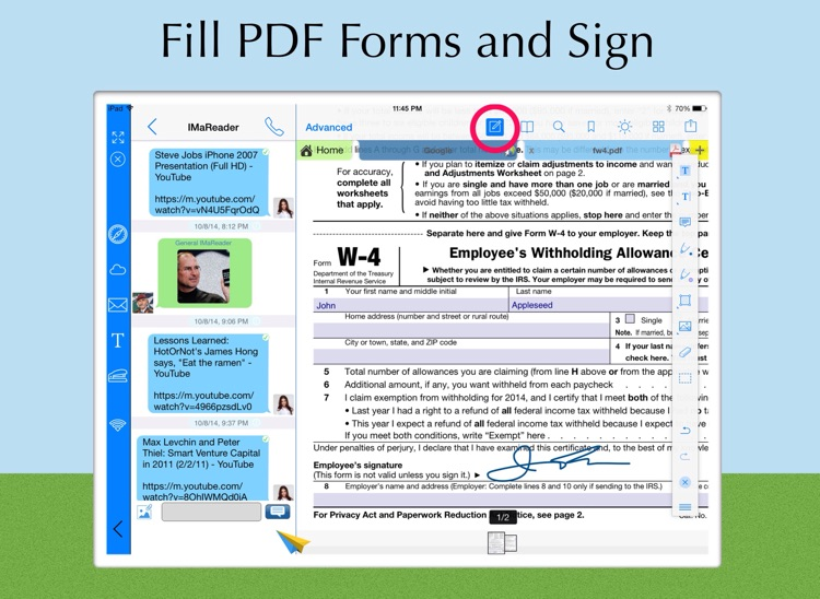 ViewChat PDF Reader with Instant PDF Converter - Best PDF collaboration tools!
