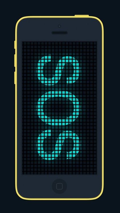 Scroll It Free - Display and Share Scrolling Messages with Emoji Icons and Neon Themes - ScrollIt screenshot-4