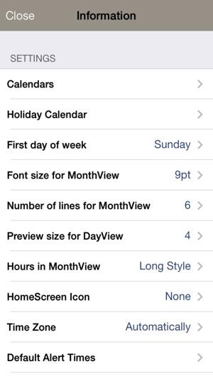 Monthly Calendar Moca On The App Store